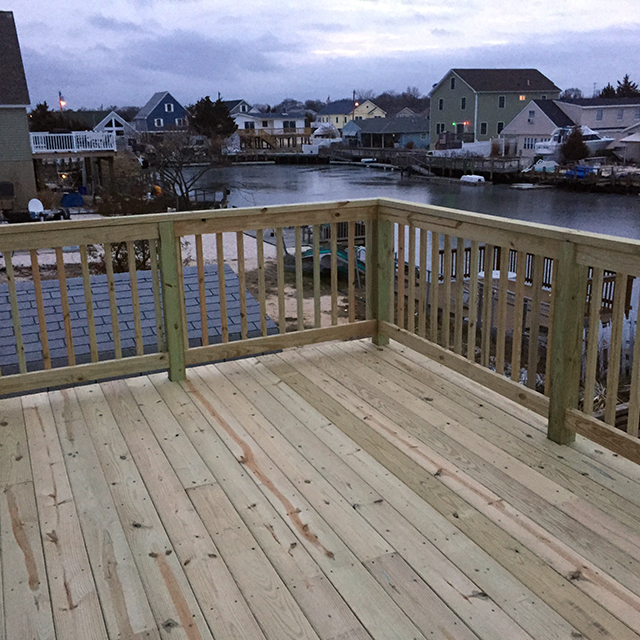 decking contractor down the shore